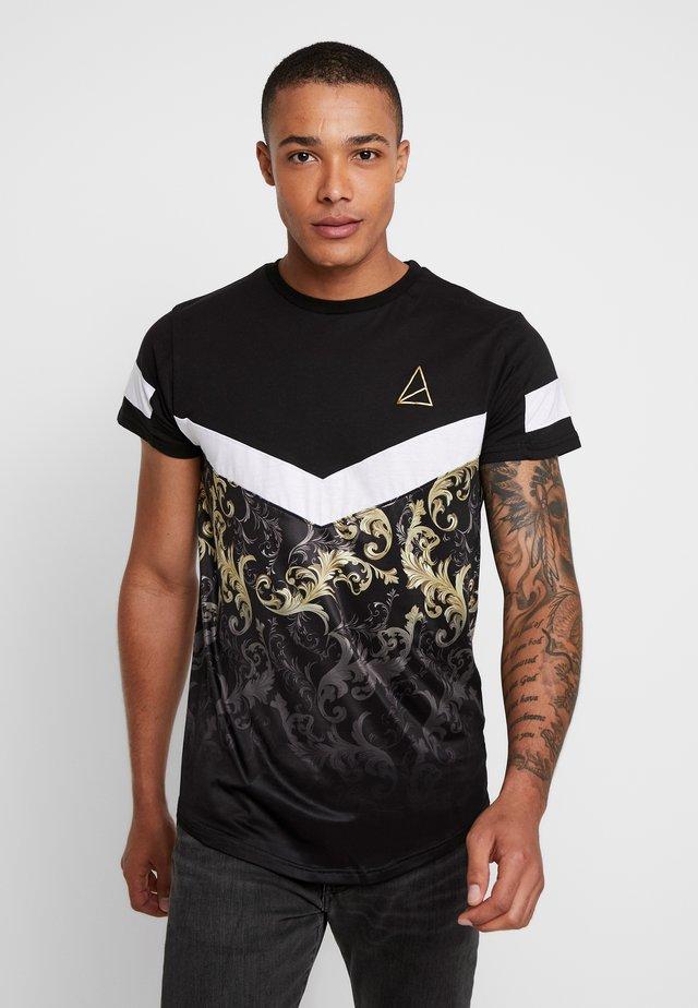 MAKENI - T-shirt imprimé - black