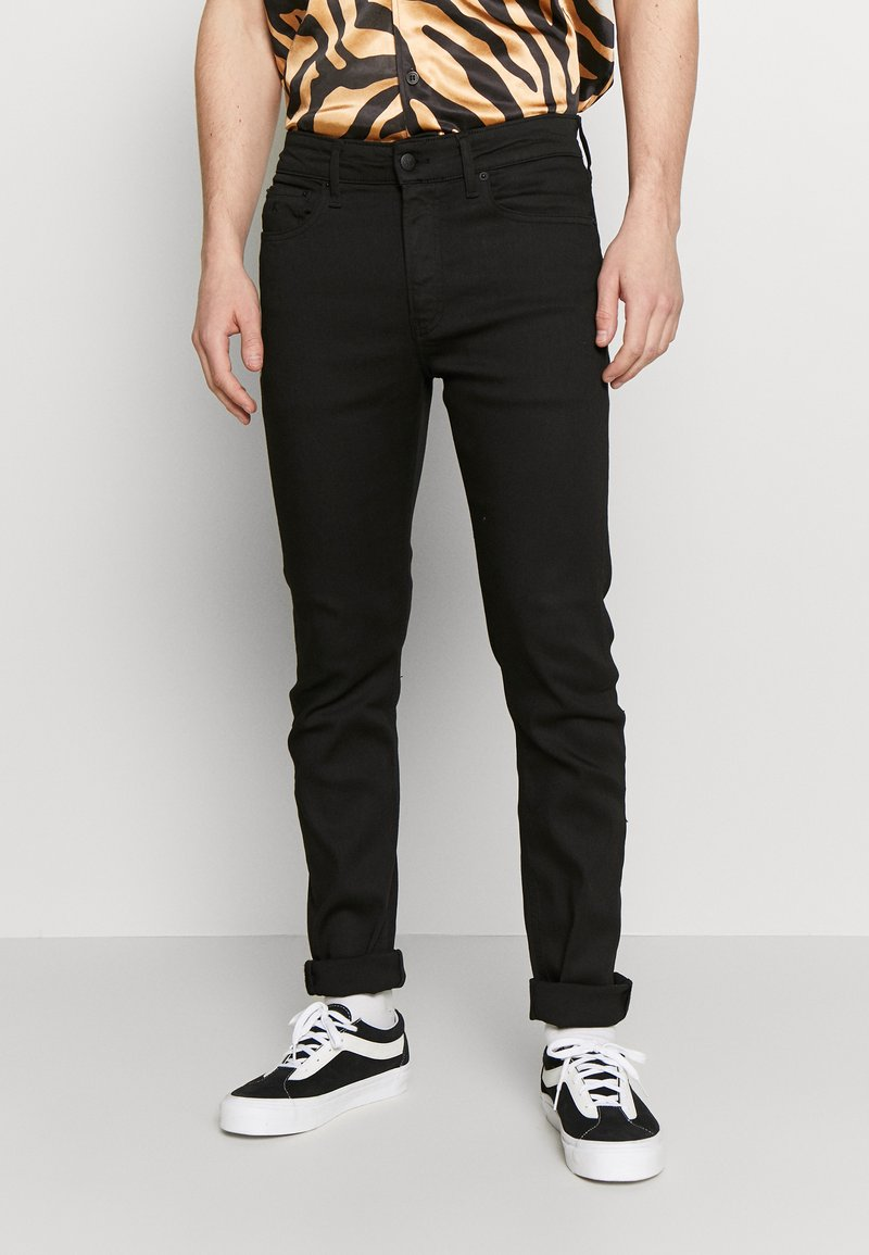 Calvin Klein Jeans - 058 SLIM TAPER - Džíny Slim Fit - black