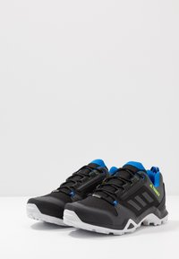 adidas Performance - TERREX AX3 GTX - Hiking shoes - core black/dough solid grey/signal green - 2