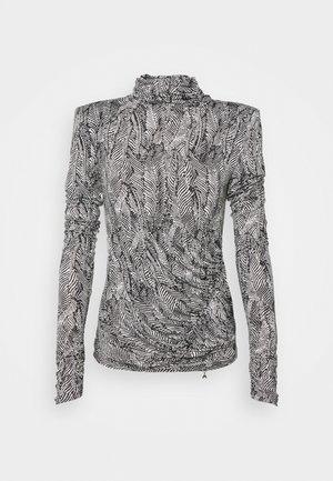 MAGLIA - Long sleeved top - black/white