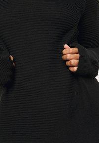 Persona by Marina Rinaldi - GANGE - Gebreide jurk - black - 5
