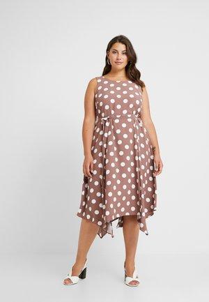SPOT - Maxi dress - taupe