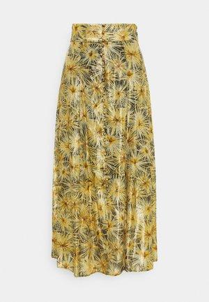 JUPE - A-line skirt - black/gold