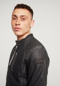 Tigha - HOLGER - Leather jacket - black - 3