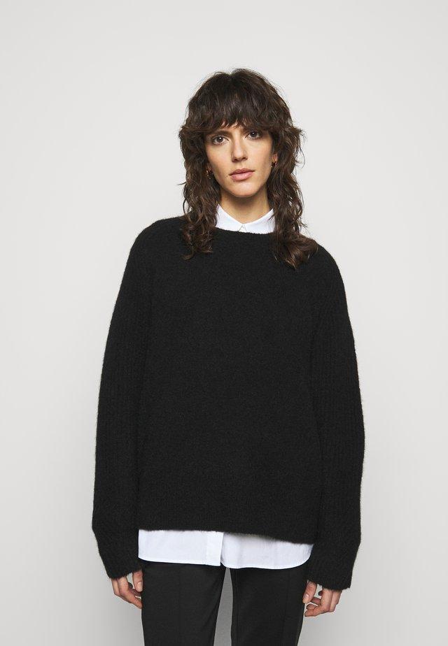 ANA - Strikpullover /Striktrøjer - black