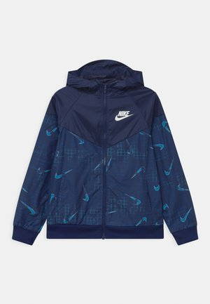 Training jacket - blue void/barely volt