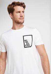 Your Turn Active - T-shirt imprimé - white - 4