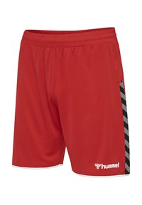Hummel - Sports shorts - red - 2