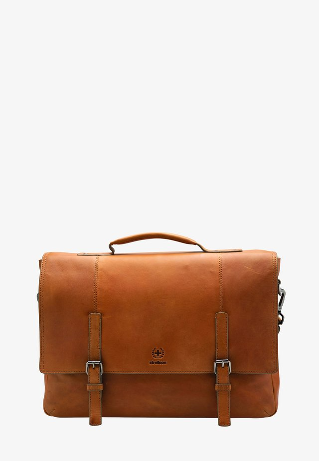 BLACKWALL - Briefcase - cognac