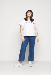 Levi's® Plus - VARSITY TEE - Print T-shirt - multicolor/white - 1