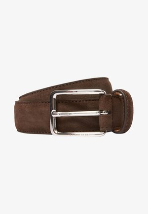 BOBBY SUEDE BELT - Belt - dark brown