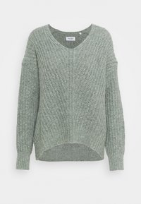Marc O'Polo DENIM - LONG SLEEVE - Jumper - washed mint - 0