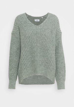 LONG SLEEVE - Strikpullover /Striktrøjer - washed mint