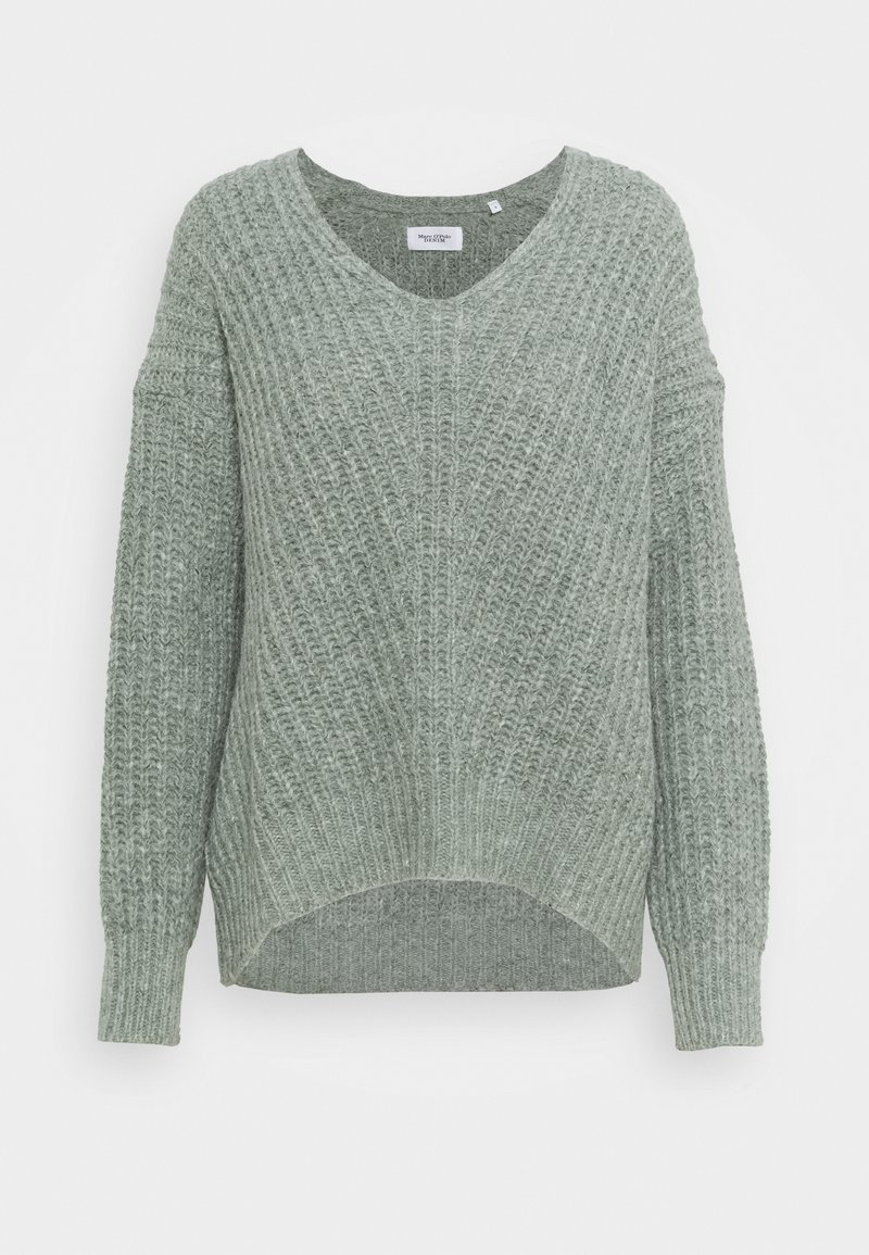Marc O'Polo DENIM - LONG SLEEVE - Jumper - washed mint