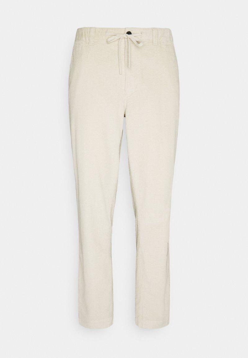 Tommy Hilfiger - CHUNKY PANTS UNISEX - Trousers - light silt