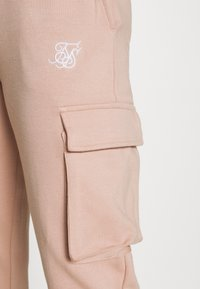 SIKSILK - CARGO JOGGERS - Cargo trousers - rose - 4