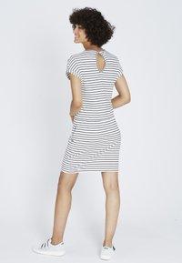 recolution - Jersey dress - navy / white - 2