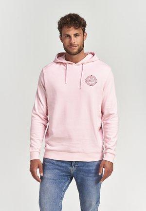 Hoodie - millenial pink