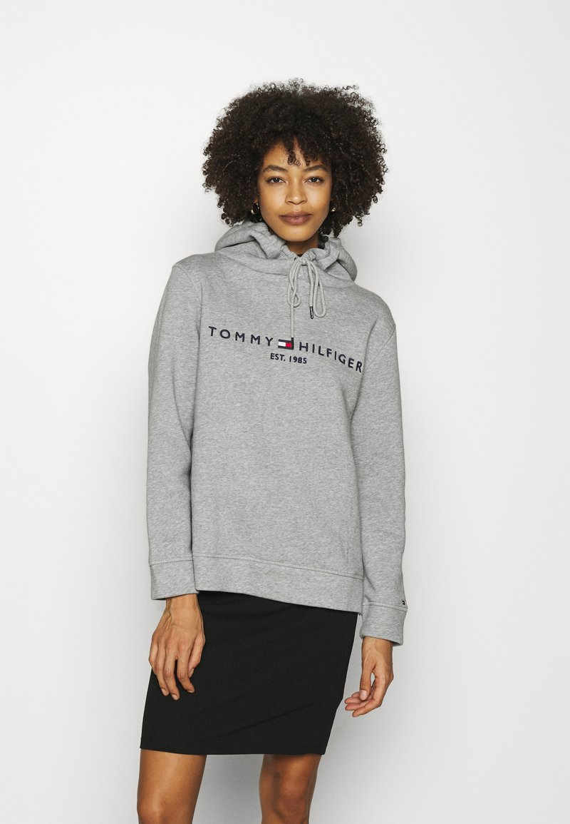 Tommy Hilfiger - REGULAR HOODIE - Sweatshirt - light grey heather