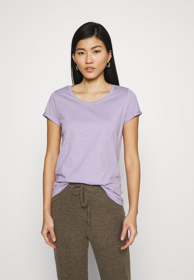 SLUB TEE - Basic T-shirt - lilac