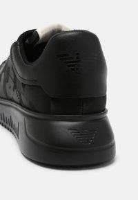 Emporio Armani - Sneakers basse - black - 6