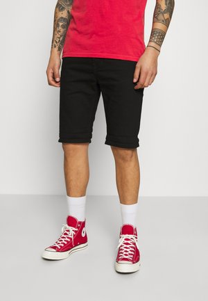 FIVE POCKET - Shorts di jeans - clean black