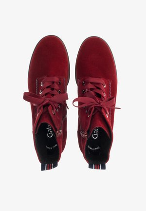 Bottines à lacets - rot