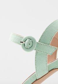 Mariamare - Sandály na vysokém podpatku - mint - 2