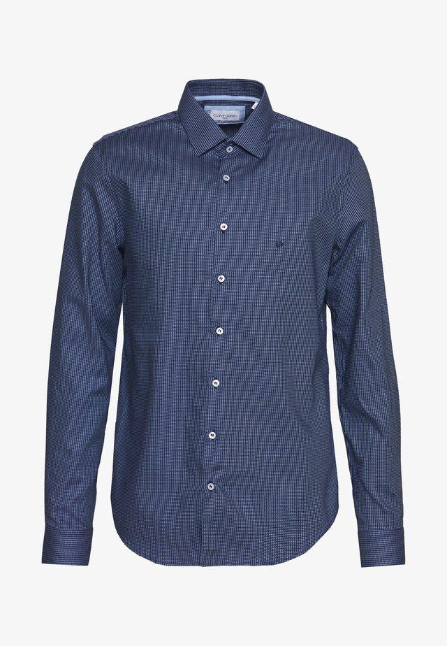 STRUCTURE EASY CARE SLIM SHIRT - Camicia elegante - blue