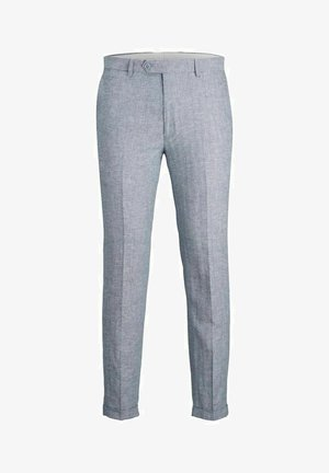JPRRAY SID  - Suit trousers - light blue