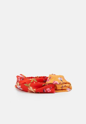 KASIDIE RHUBARB HEADBAND SCARF - Hair styling accessory - orange