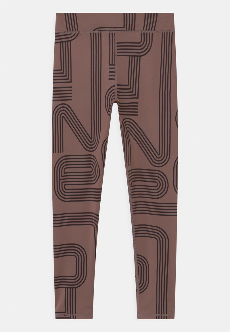 ONLY Play - TRAIN GIRLS - Medias - deep taupe/black