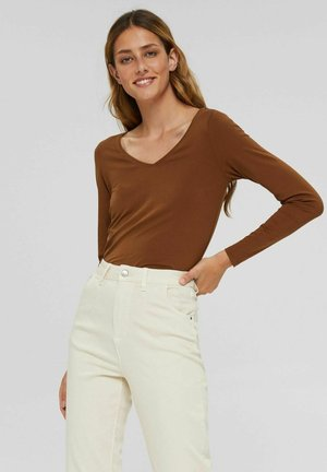 NOOS CORE COO T - Long sleeved top - toffee