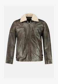 JP1880 - Leather jacket - braun - 1