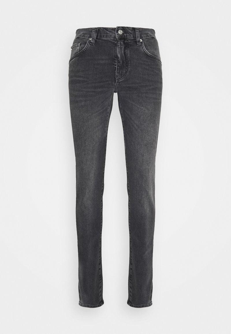 J.LINDEBERG - JAY SLATE WASHED JEANS - Slim fit jeans - black