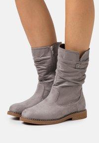 Anna Field - Vysoká obuv - grey - 0