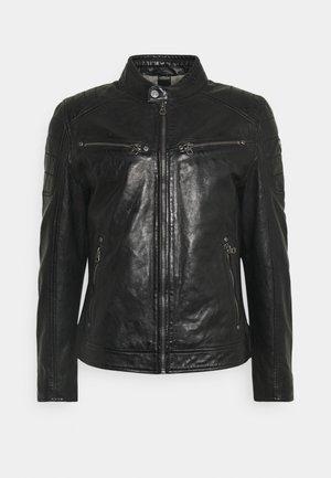 DERRY - Kožená bunda - schwarz