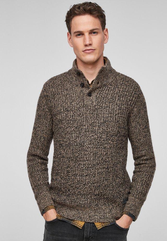 Maglione - brown knit