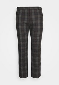 Shelby & Sons - SHELDON TROUSER PLUS - Trousers - charcoal - 0