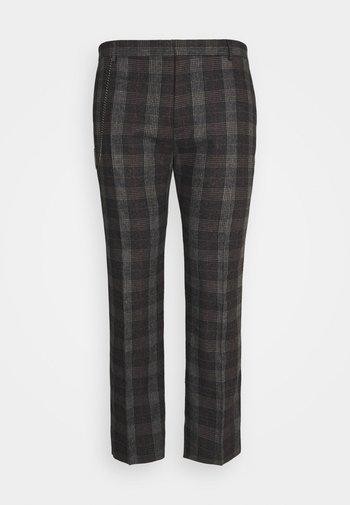 SHELDON TROUSER PLUS - Trousers - charcoal