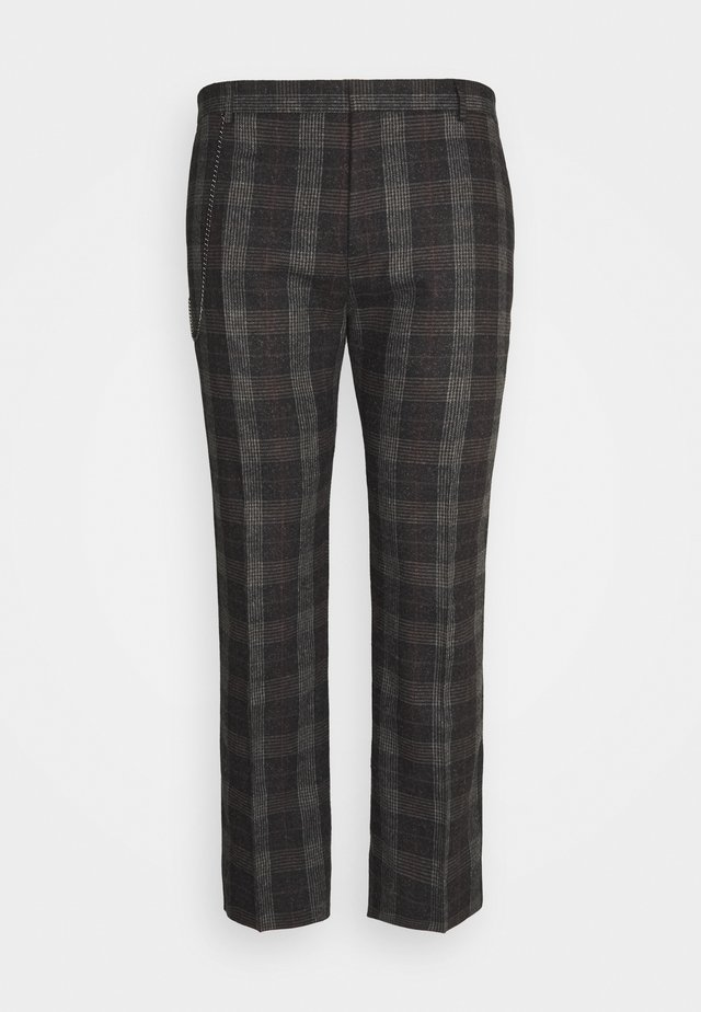 SHELDON TROUSER PLUS - Kangashousut - charcoal