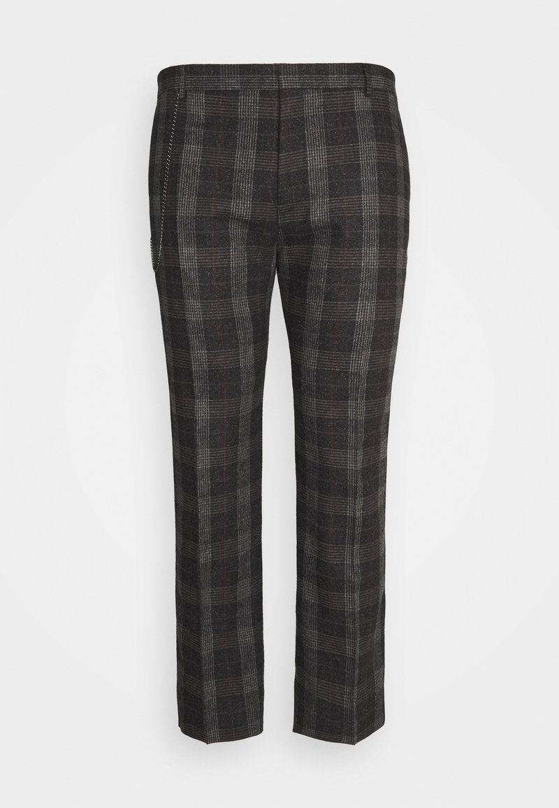 Shelby & Sons - SHELDON TROUSER PLUS - Trousers - charcoal
