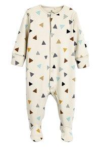 Next - THREE PACK - Sleep suit - white - 4
