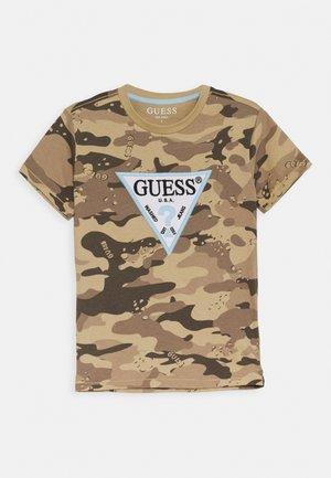 JUNIOR - T-shirt imprimé - olive
