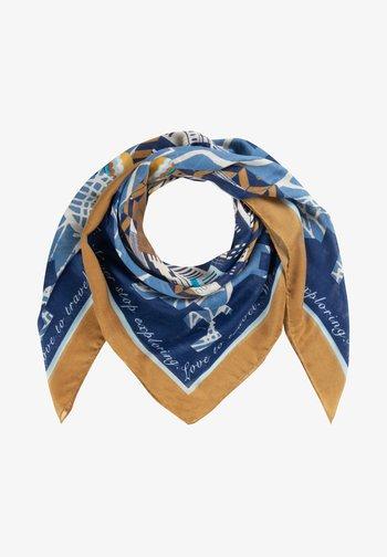 Foulard - dark blue/yellow