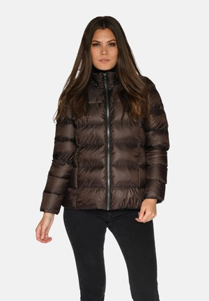 Winter jacket - dk. brown