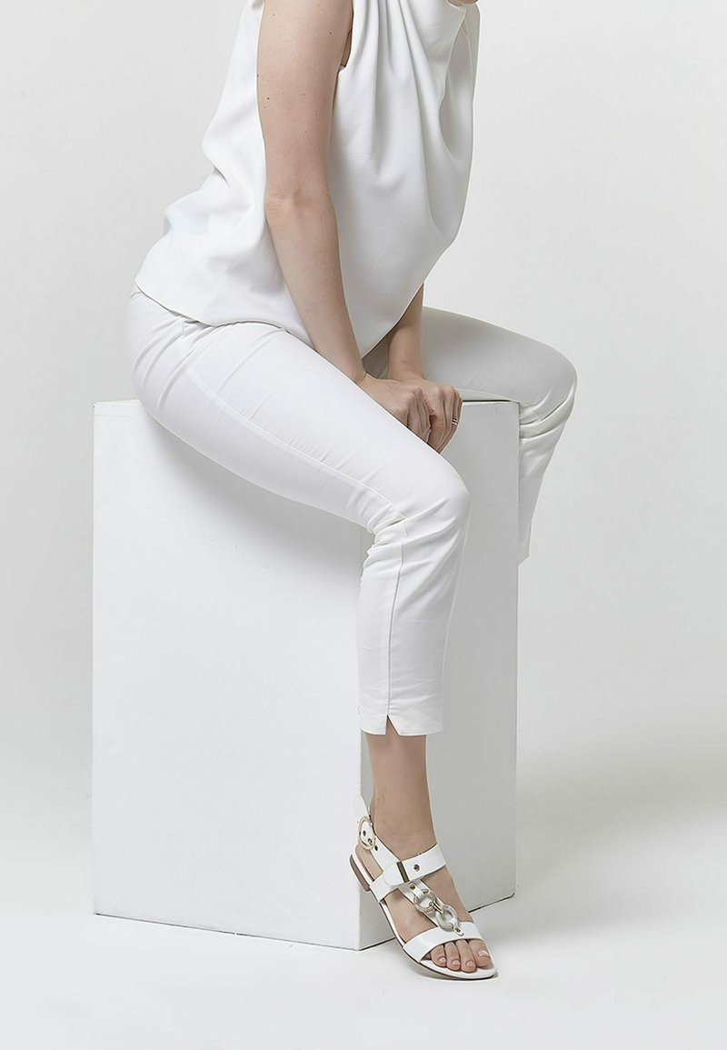 Betsy - Sandals - white
