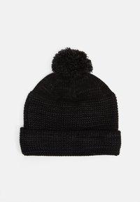 Nike Sportswear - CUFFED BEANIE FUT POM UNISEX - Mütze - black/white - 1