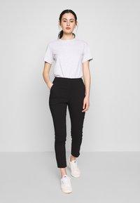 Vila - VIMARIKKA PANTS - Trousers - black - 1