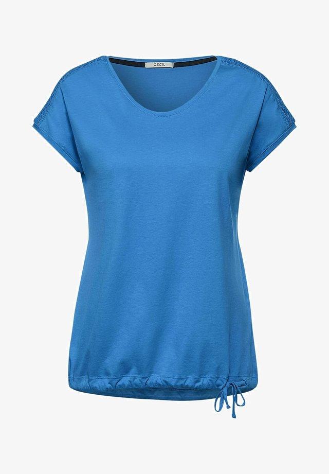 MIT SMOK - T-shirt - bas - blau